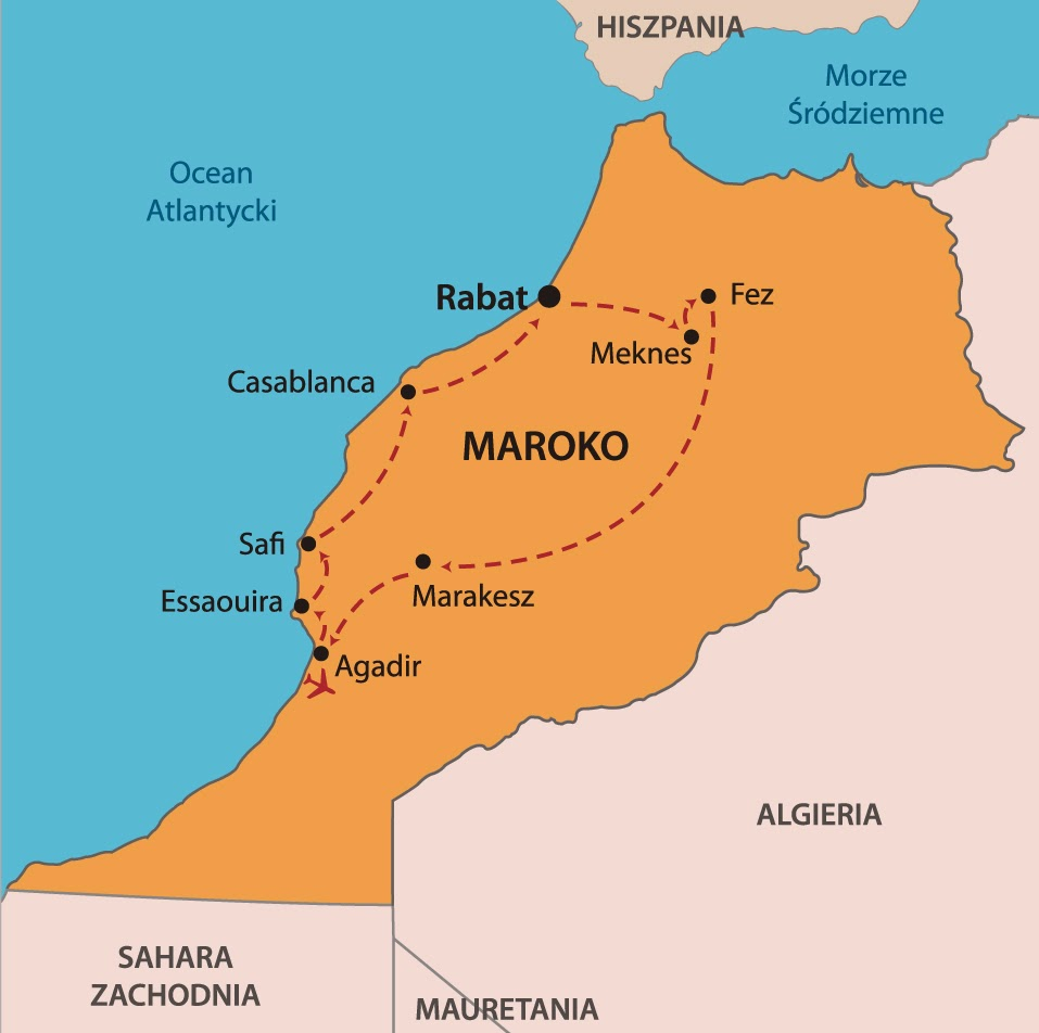 maroko mapa Svatava Hejtmánková   Google+ maroko mapa