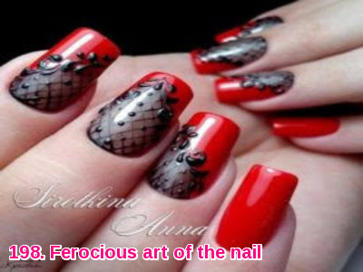 Ferocious art of the nail