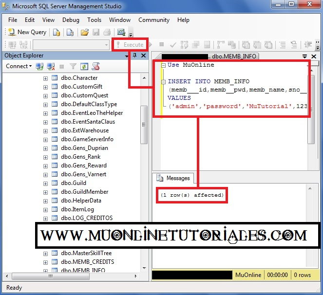 Visualizando la query en SQL Server 2008