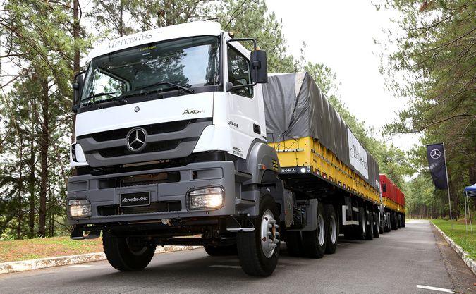 Mercedes-Benz apresenta nova geração de câmbio automatizado