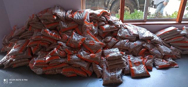  4,5 τόνους τρόφιμα δωρεά ομογενή από τον Καναδά στον Δήμο Επιδαύρου
