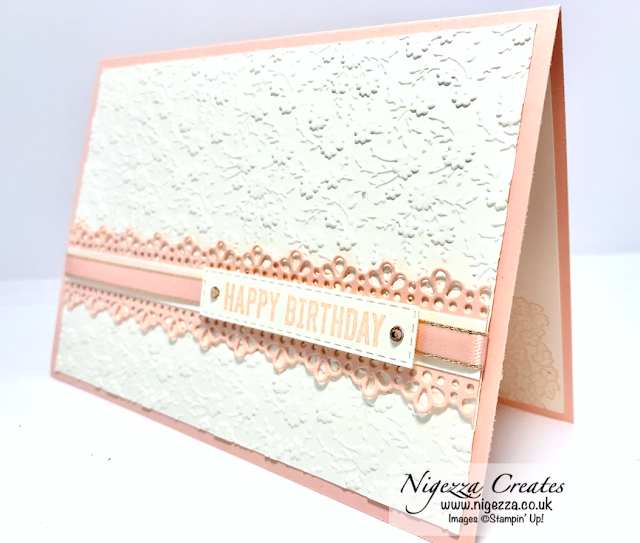 Nigezza Creates with Stampin' Up! & Ornate Borders Birthday Card