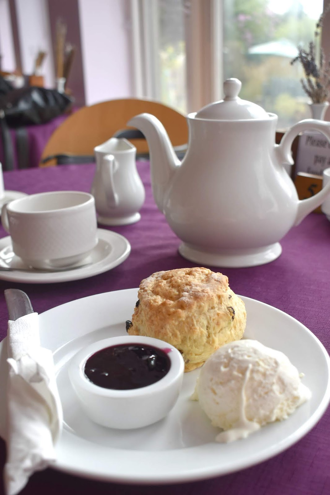 A Trip to Yorkshire Lavender Tearoom
