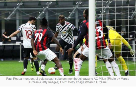 Milan vs Manchester United 0–1 Highlights