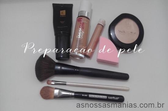 Produtos para preparação de pele
