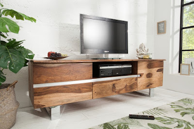 komody Reaction, nábytok z masívneho dreva, nábytok z dreva a kovu