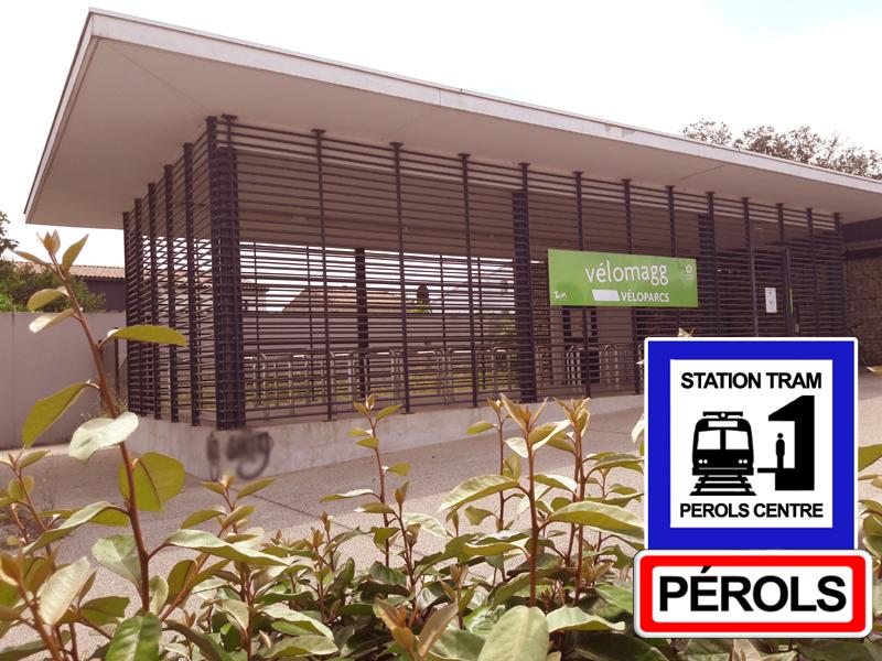 Parc à vélos de Pérols