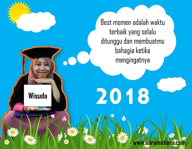 Nurul Mutiara R A Best Moment 2018 Good Bye Masa Skripsiku Hello Wisuda Dan Smartphone Impianku