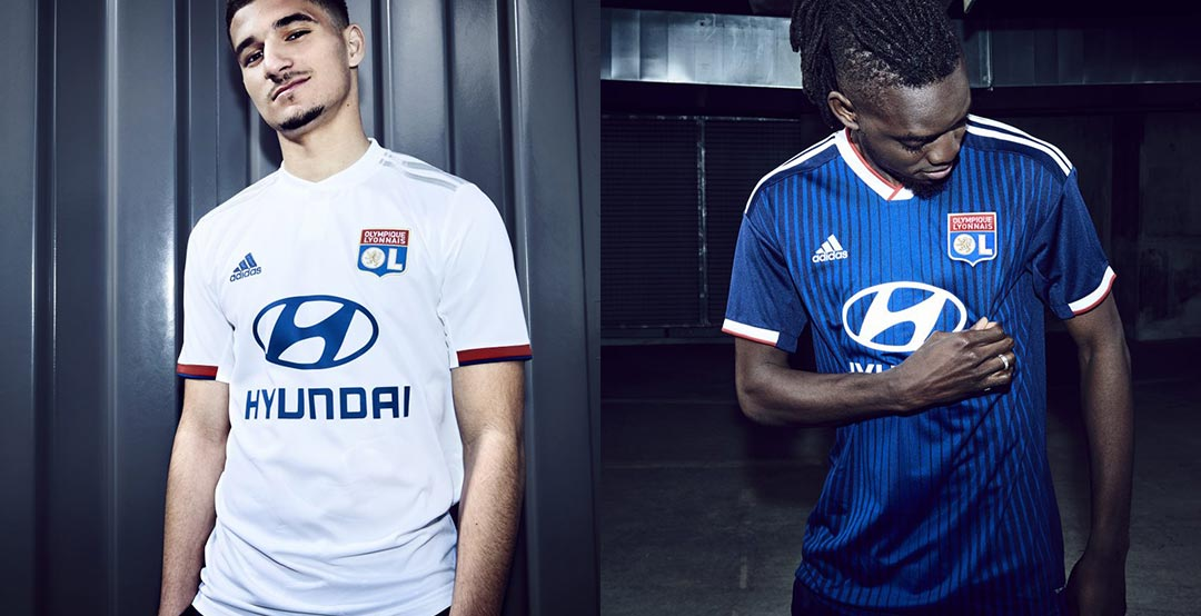 299e2be4f9f Confirming previous leaks, the new Olympique Lyon kits have been released  today. They are made by long-term supplier Adidas.