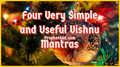 Simple and Useful Lord Vishnu Mantras