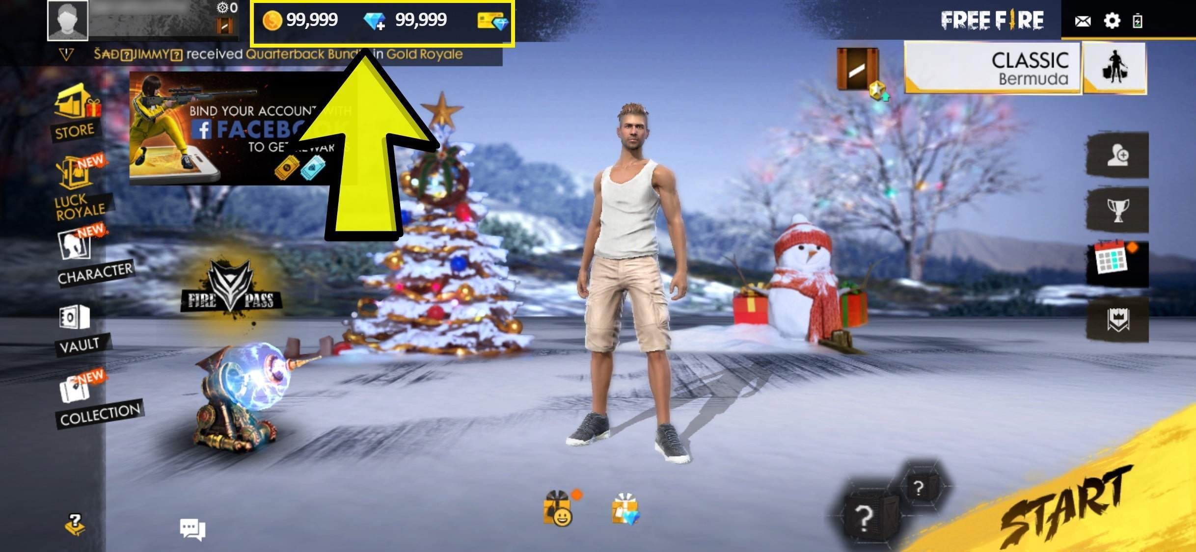 Claim Freefire Unlimited Coins and Diamonds For Free! 100% Working [October 2020]