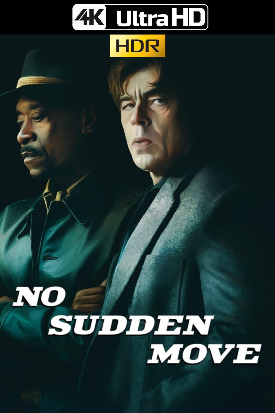 No Sudden Move (2021) HMAX 4K-HDR WEB-DL 2160p Latino