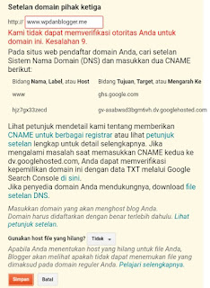Cara Setting Domain Blogspot Di Namecheap Terbaru
