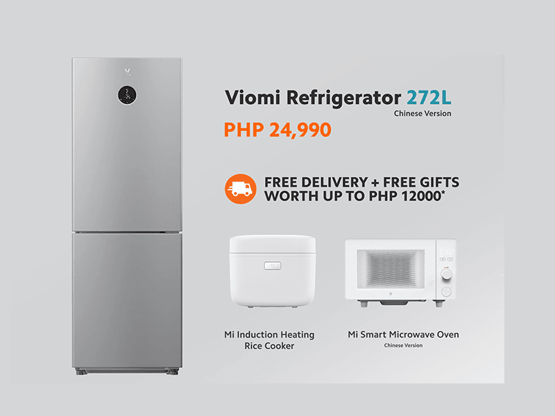 Deal: Buy a Xiaomi Viomi Refrigerator and get a Rice Cooker and Microwave for FREE!
