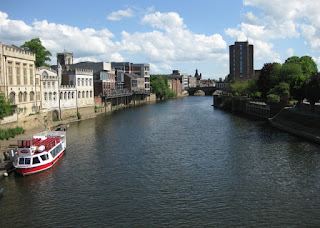 River Ouse from the Lendal Bridge, York, England