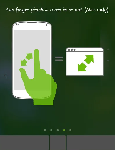 Android as keyboard and mouse