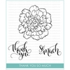 Studio Katia THANK YOU SO MUCH Clear Stamps STKS015