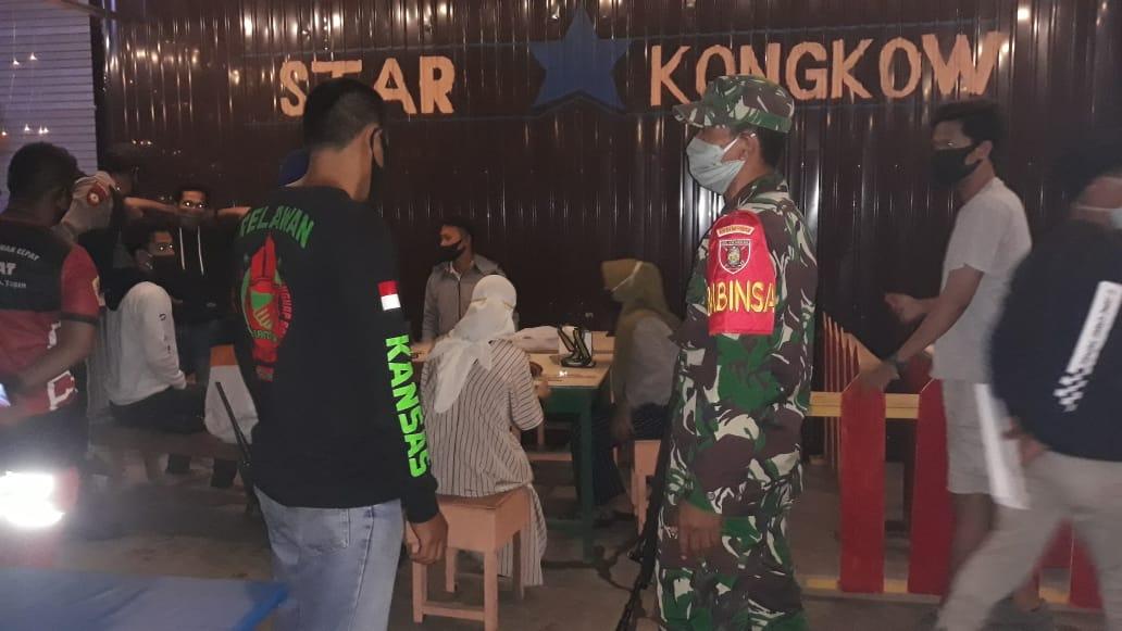 Operasi Patuh Penerapan Kebijakan Pemakaian Masker, Puluhan Pengendara Terjaring Razia