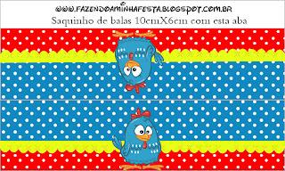 Galinha Pintadinha Kit Completo Com Molduras Para Convites