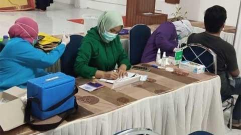 Capaian Vaksinasi Pemko Padang Panjang Peringkat Enam Nasional