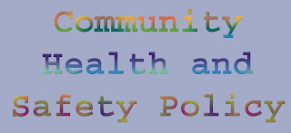 Community Health and Safety Policy