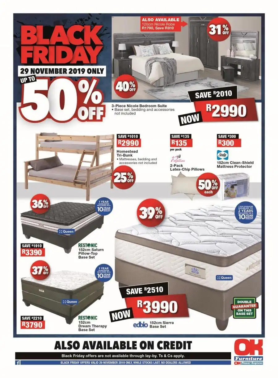 OK Furniture Black Friday 2019 deals - Page 8 of 8
