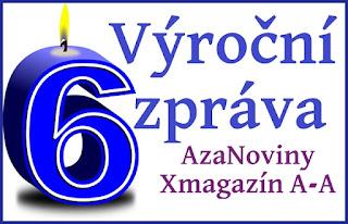 Zpráva k 6. výročí projektu AzaNoviny Xmagazín Anděla Azazela