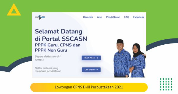 Lowongan CPNS D-III Perpustakaan 2021