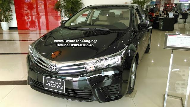 Liên hệ ngay với Toyota Tân Cảng để mua xe Altis 2015 nhiều ưu đãi