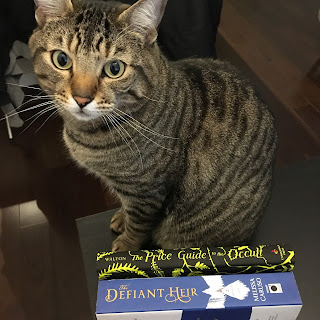 Pickles with The Price Guide to the Occult and The Defiant Heir.