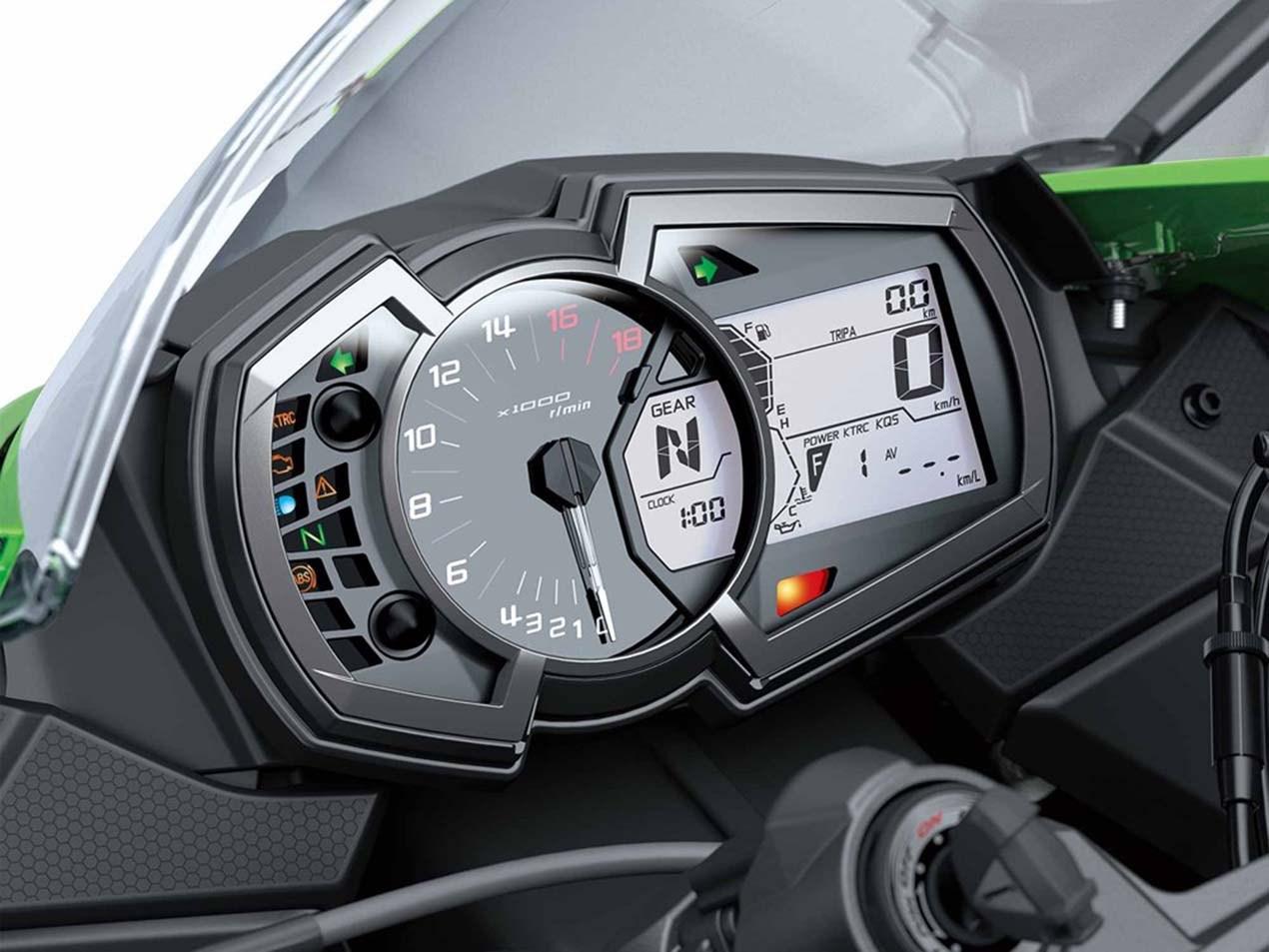 Begini tampang New Kawasaki ZX-6R 636 model 2019, jadi lebih terlihat bengis ?
