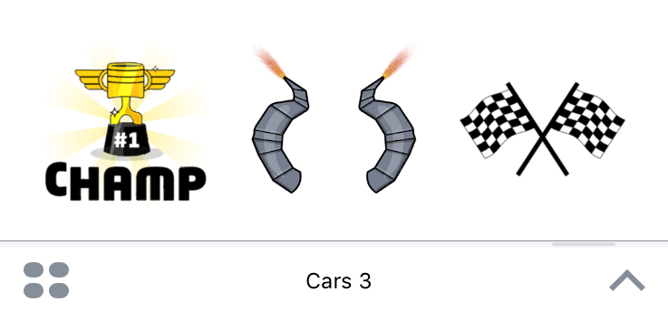 cars 3 apple ios sticker packs review disney