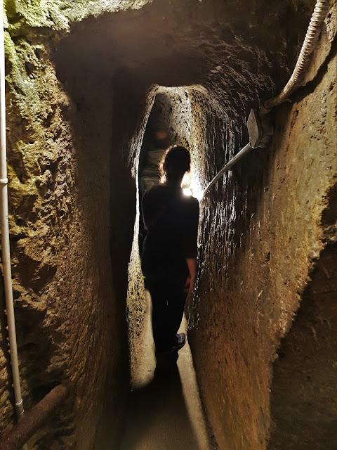 napoli sotterranea claustrofobia