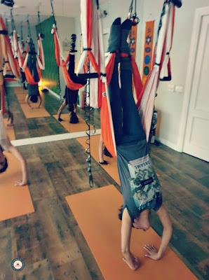 aero yoga aérien