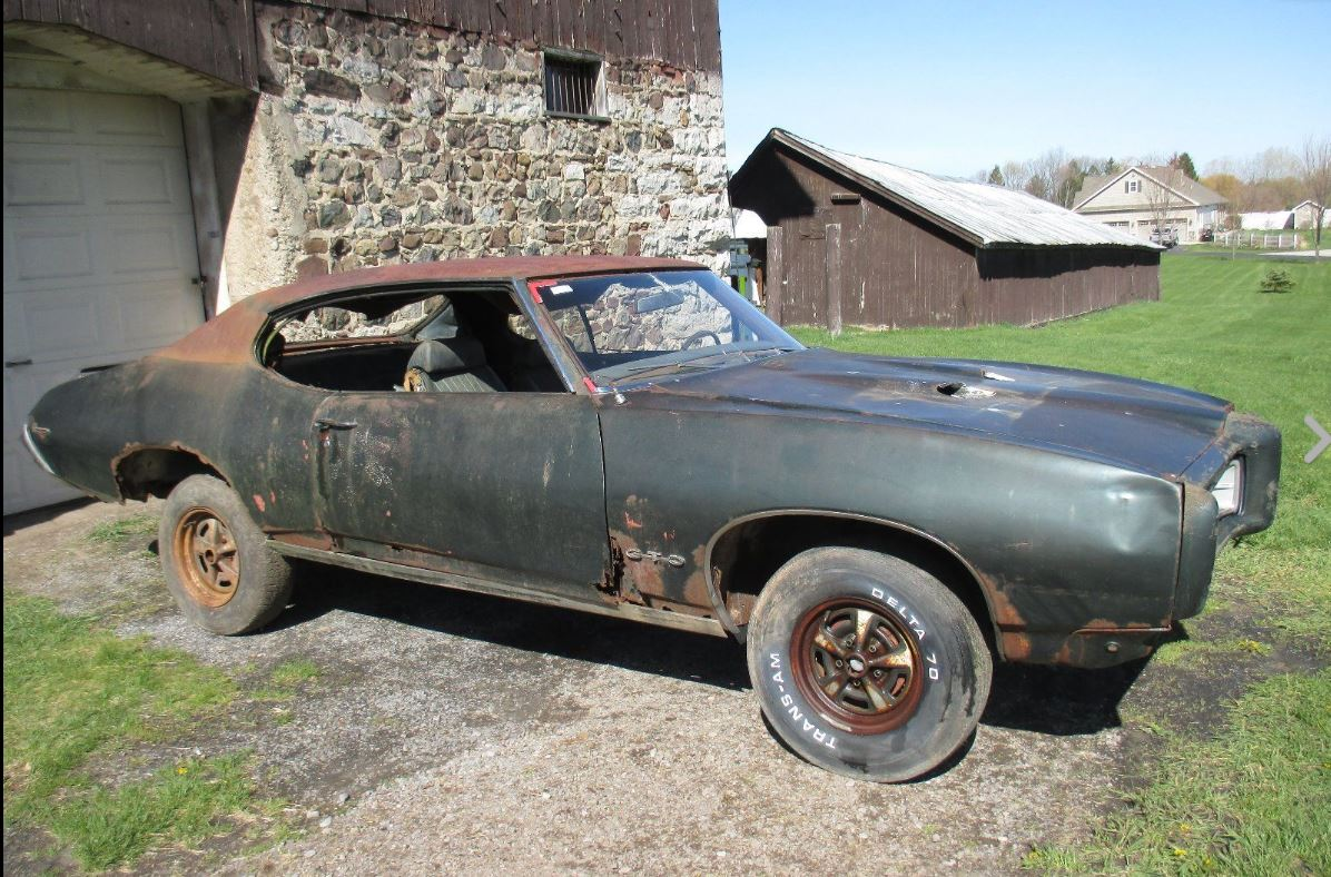 Now THAT\'S Patina: 1969 Pontiac GTO Judge | phscollectorcarworld
