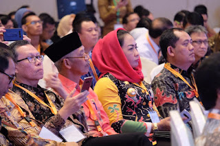 Bupati  Tulang Bawang Hadiri Kegiatan RPJMN di Medan