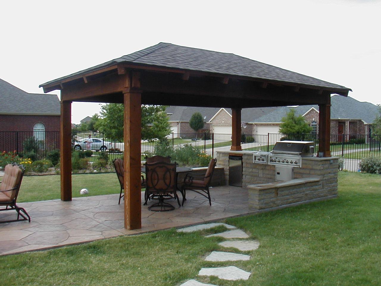 Fresh modern design outdoor summer kitchen - Outdoor kitchen pictures design ideas ...