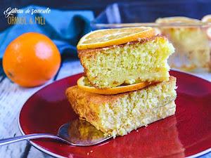 Gâteau de semoule à l'orange et au miel
