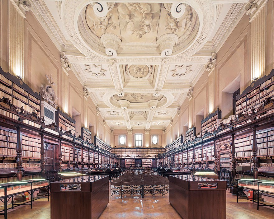 Bibliothèque du Sénat, Paris - House Of Books: The Most Majestically Beautiful Libraries Around The World Photographed By Franck Bohbot