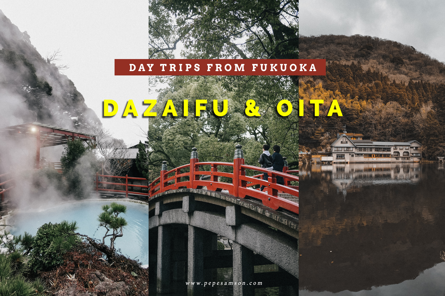 Dazaifu and Oita Day Tour from Fukuoka (Plus My First Onsen Experience!)