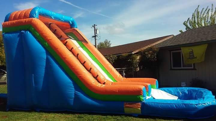 water slide rentals in Clovis