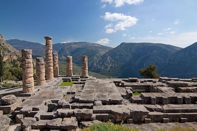 UNESCO heritage tours Greece Delphi
