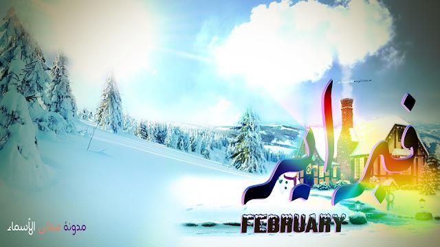 تعريف شهر فبراير وتاريخه