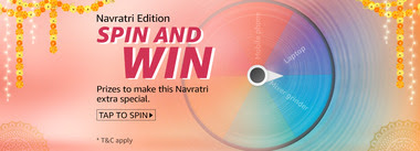 Amazon Navratri Edition Spin And Win Quiz