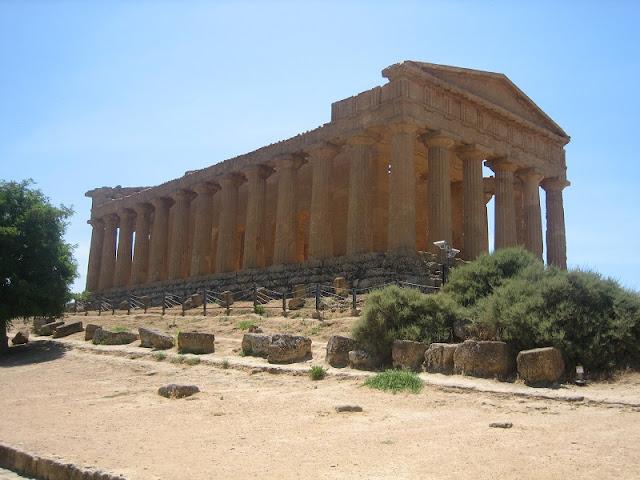 Agrigento - Templo de la Concordia