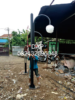 pabrik tiang lampu,jasa pembuatan tiang lampu,jual tiang lampu