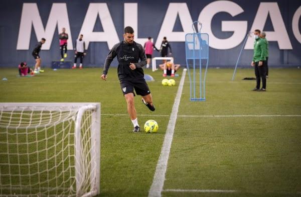 Málaga, el defensa Alexander González tiene minutos con Venezuela ante Colombia