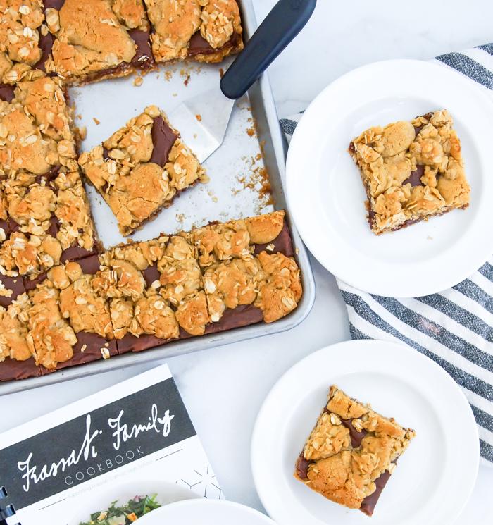 Chocolate Revel Bars from the Frassati Family Cookbook