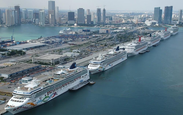 Cruise Ships Miami - CLIA study exposes the contribution of the cruise industry to the United States Economy