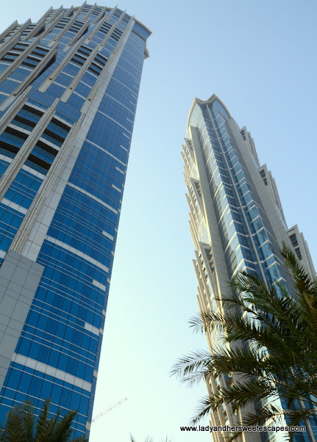 One night stay at the tallest hotel in the world lady for Tallest hotel in the world